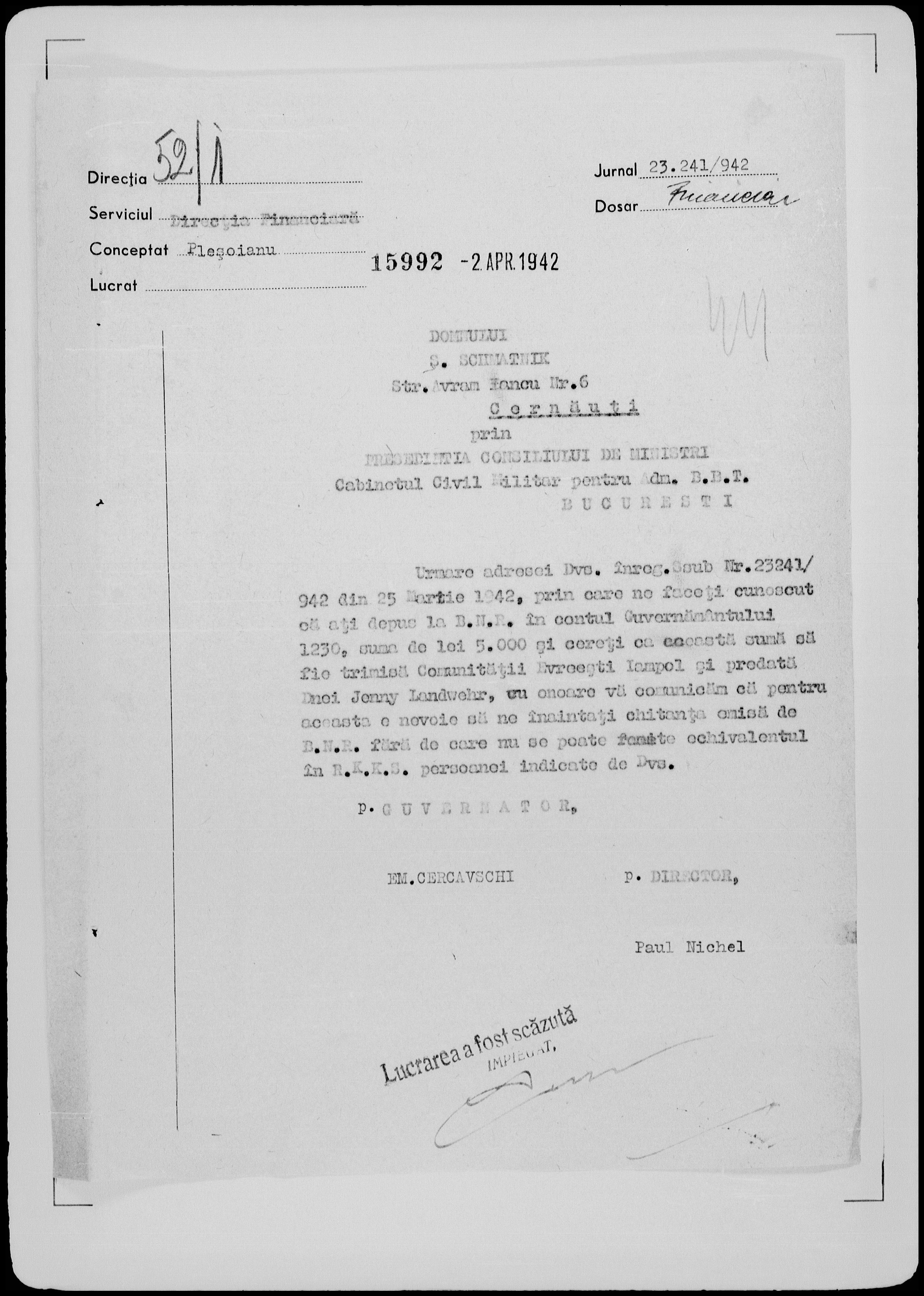 Sigmund-Schmatnik-document-2April1942