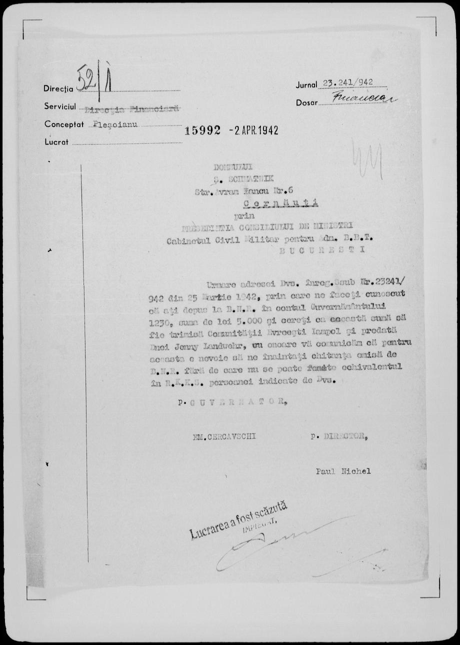 Sigmund-Schmatnik-document-2April1942